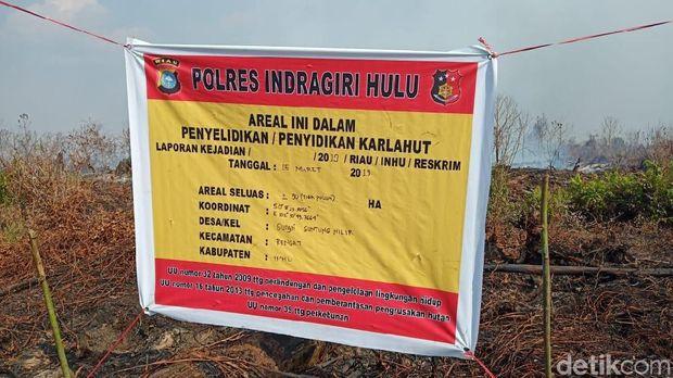 Karhutla di Riau, Api Dekati Kawasan Suaka Margasatwa