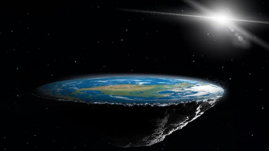 Ayo Patungan untuk Kirim Kaum Bumi Datar ke Luar Angkasa