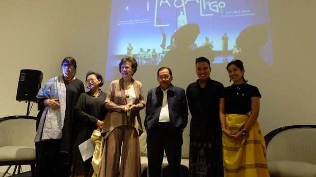 JK dan SBY Terpukau Kehebatan Pertunjukan Kelas Dunia 'I La Galigo'