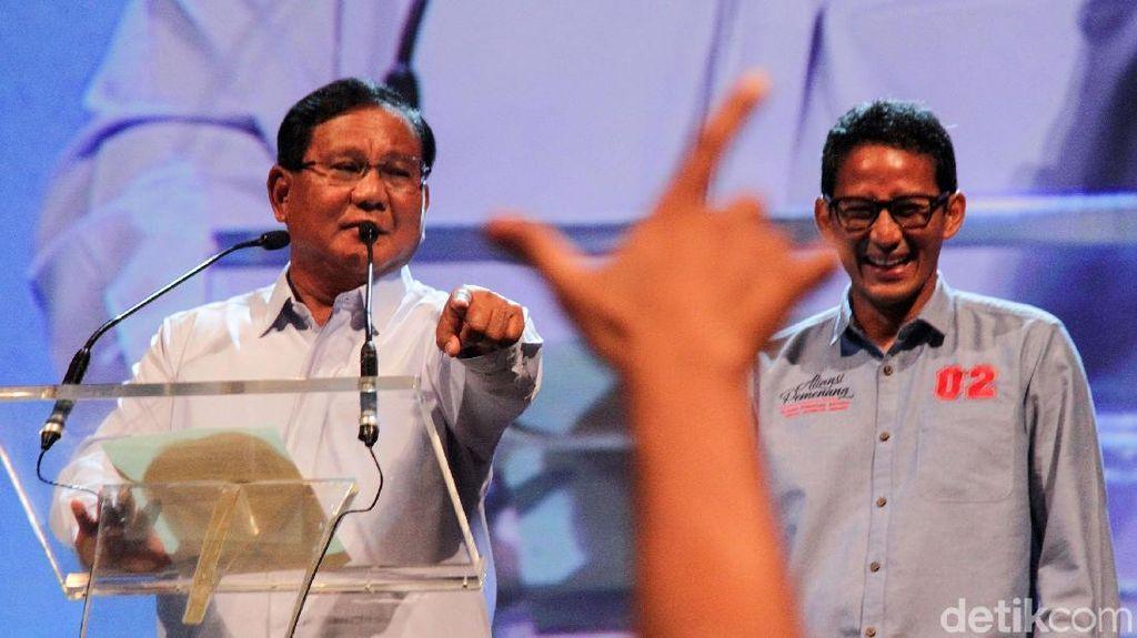 Prabowo: Tiap Kampanye, Saya Disambut Partai Lain yang Diam-diam Dukung