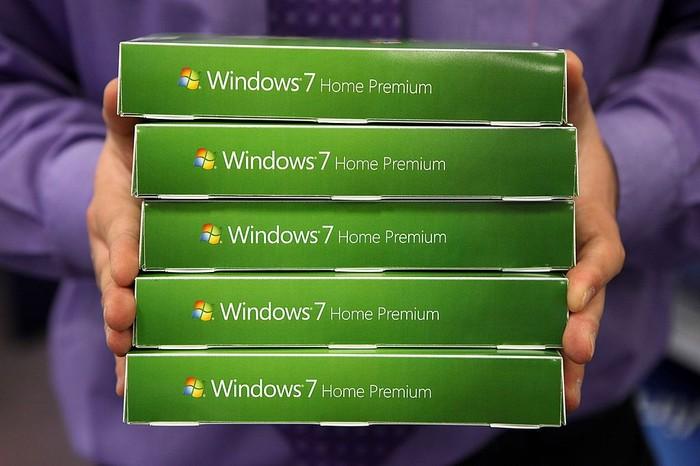 Windows 7. Foto: Oli Scarff/Getty Images