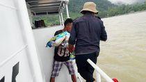 Kapal Kemenhub Mulai Salurkan Bantuan untuk Korban Banjir Sentani