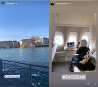 Eits, Setelah Luna Maya Giliran Syahrini Terbang ke Swiss