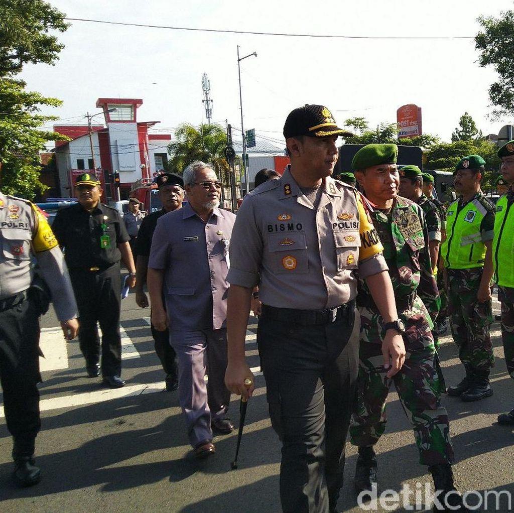 Polisi Awasi Titik Bencana saat Masa Kampanye di Ciamis-Pangandaran