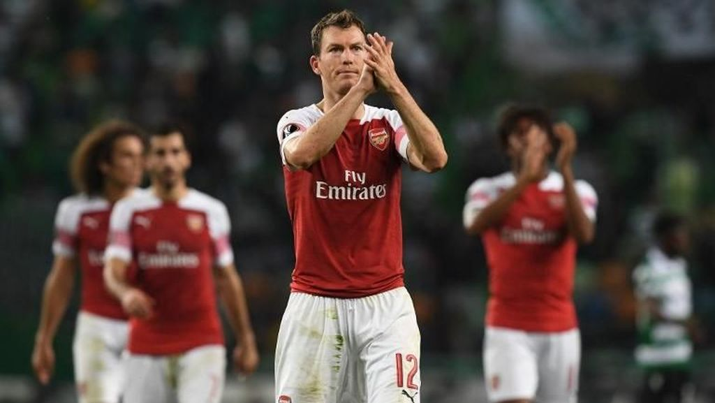 Lichtsteiner Bahagia di Arsenal, tapi...