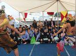 Belajar Budaya Indonesia, Puluhan Siswa Lebanon Diajak Naik KRI