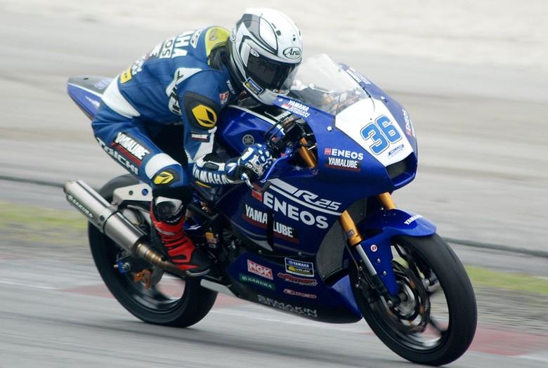 Motor made in Indonesia balapan di ajang Internasional Foto: Pool (Yamaha)