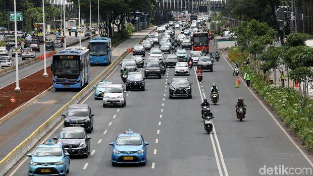 Ilustrasi Situasi kota Jakarta