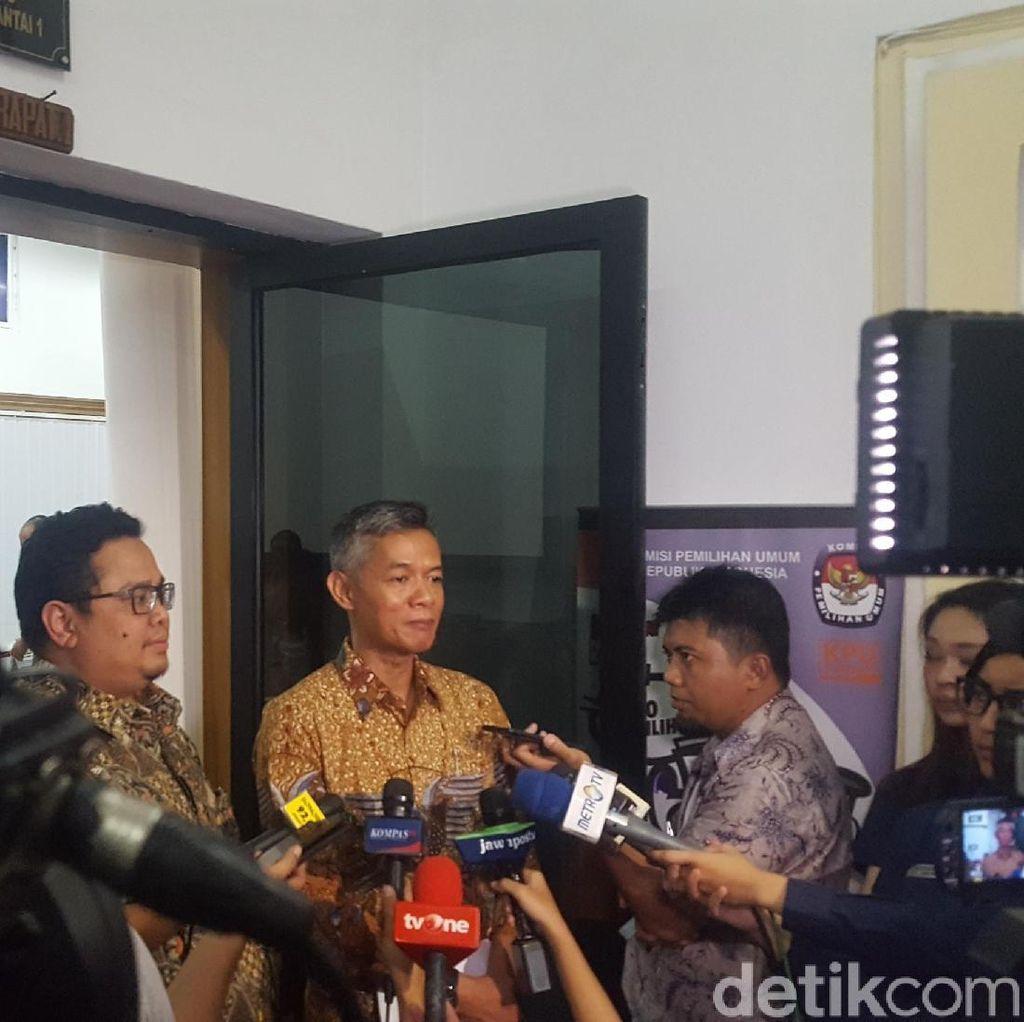 KPU Tunda Rapat Penetapan Moderator dan TV Penyelenggara Debat Capres