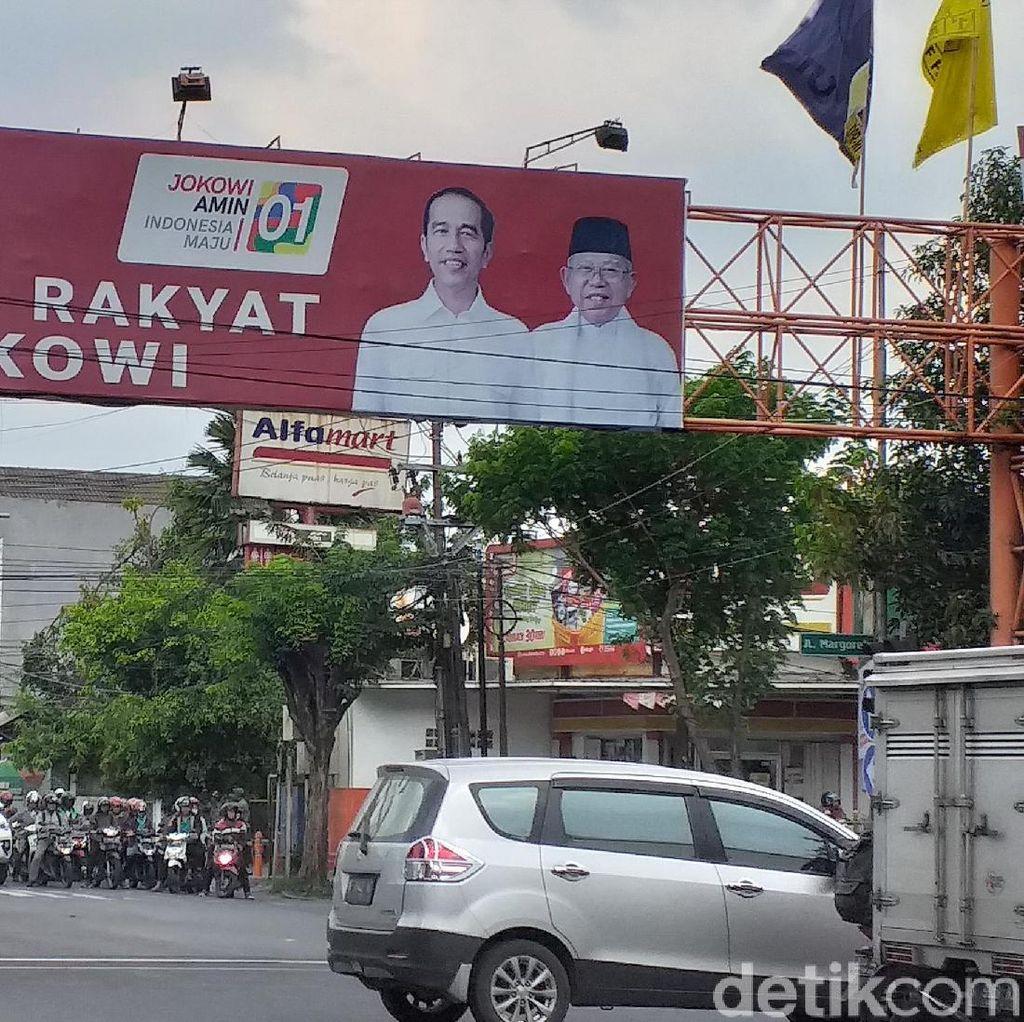 Spanduk Rakyat Jokowi, BPP Jatim: Nggak Yakin Bawaslu Ngeh