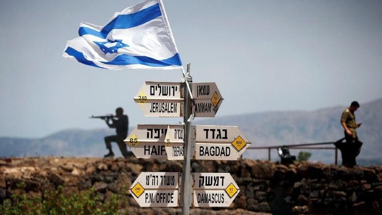 Trump Akui Golan Sebagai Wilayah Israel, Suriah Minta DK PBB Sidang