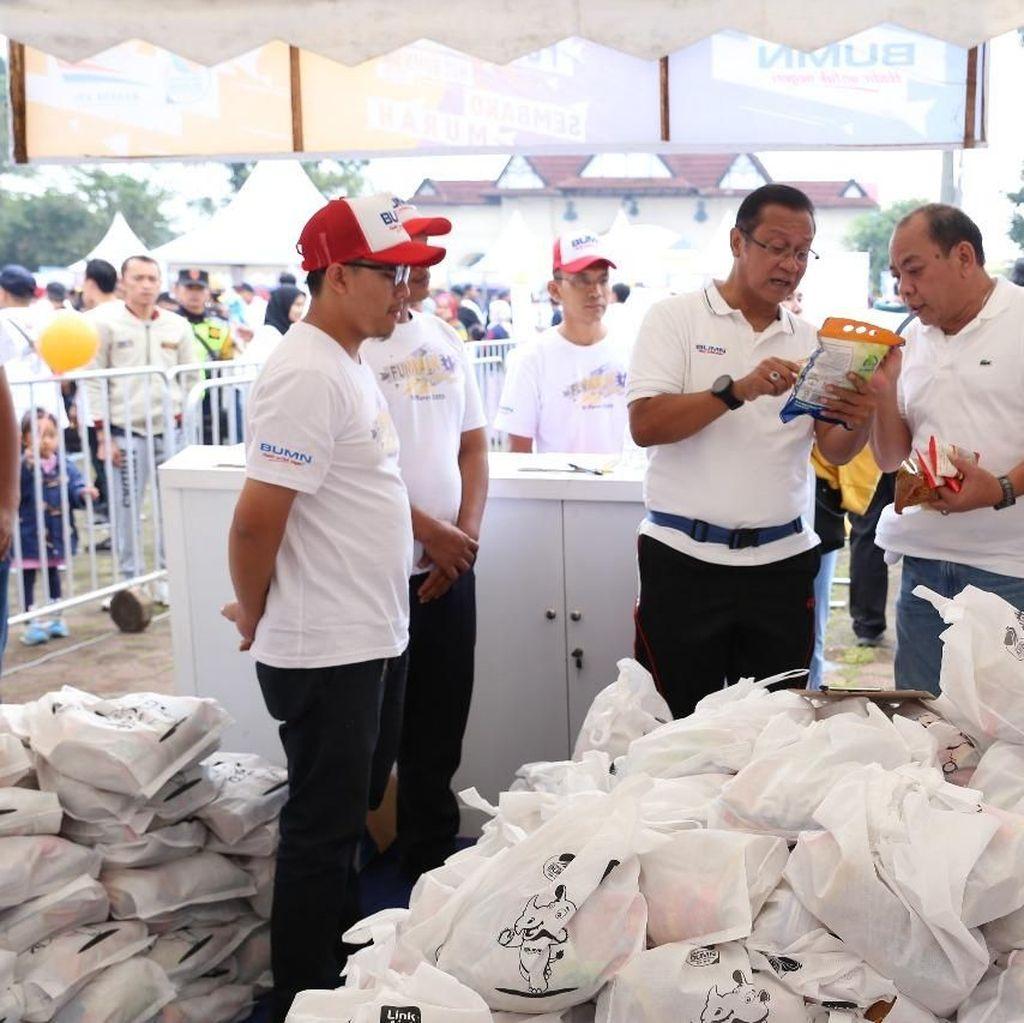 KAI Gelar Pasar Murah Paket Sembako Senilai Lebih dari Rp 88 Juta