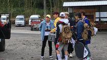Usai Ikut Tour Merapi, SuJu Asyik Ngopi di Yogyakarta