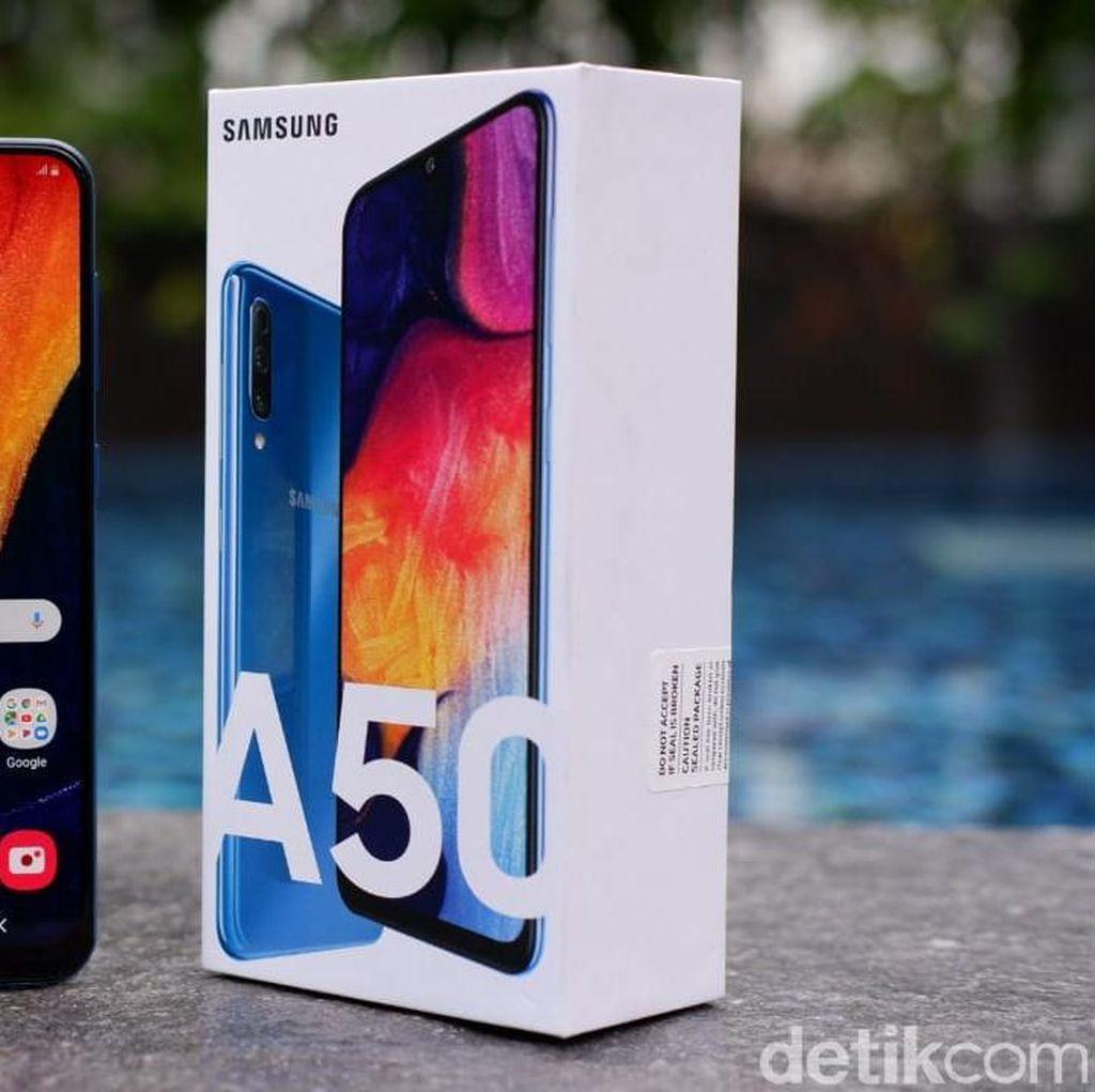 Mendarat ke Indonesia, Berapa Harga Galaxy A50 dan A30?