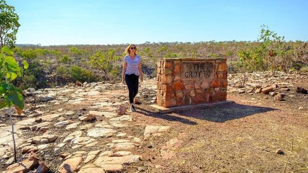 Suasana di Grotto Wyndham. Ini adalah salah satu tempat wisata di jalur Great Northern Highway di utara Australia Barat (Tourism Western Australia)