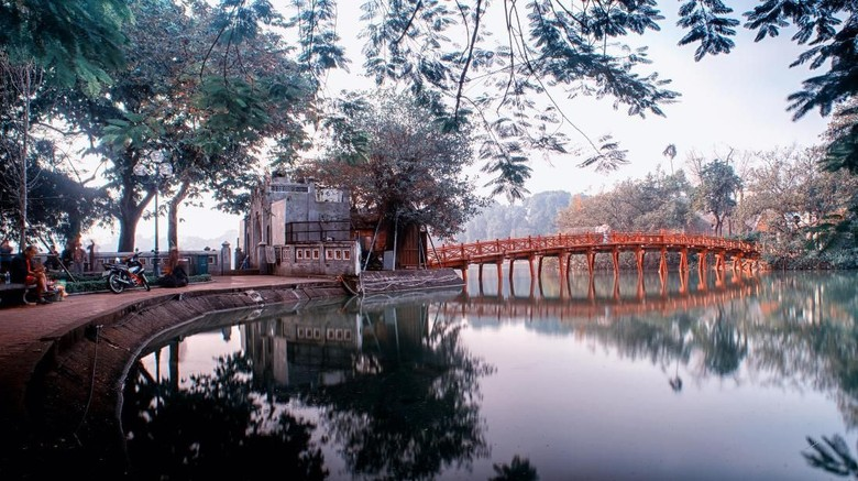 Foto: Wisata di Hanoi, Vietnam (iStock)