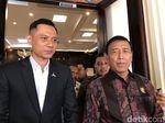Temui Wiranto, AHY Beri Dukungan Agar Pemilu Aman, Damai dan Jujur