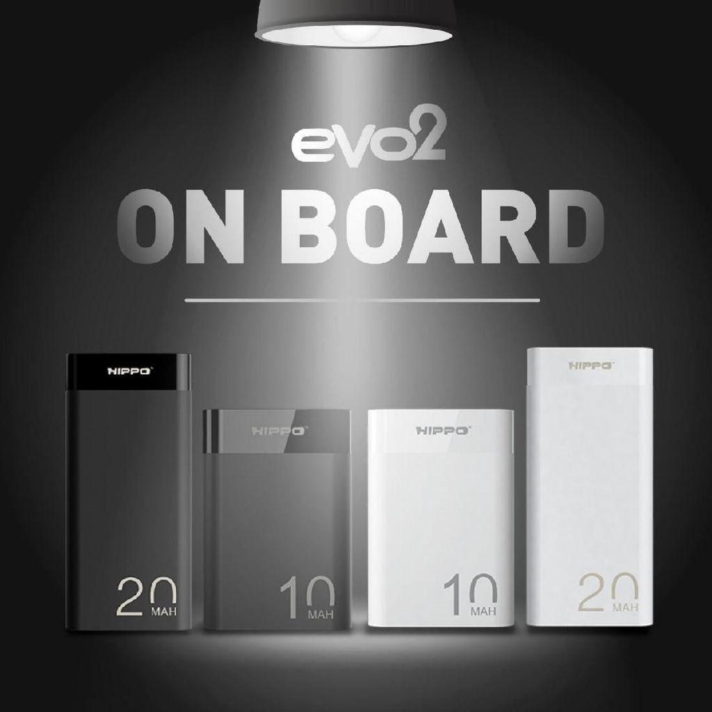 Hippo Evo2 Compact, Powerbank Seukuran Kartu Kredit