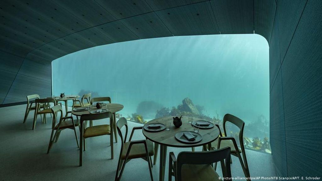 Telah Dibuka! Restoran Bawah Laut Terbesar di Dunia