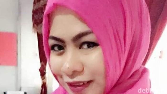 Foto: Sulaiha Djafar yang ditemukan tewas dalam mobil di Gowa (Ist)