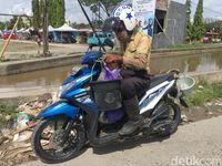 Di Pelosok Sulawesi Barat Ada Pengemis 'Tajir' Ngemis Naik Motor