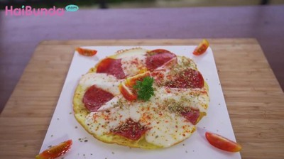 Resep Pizza Kentang, Taburan Keju Mozzarellanya Bikin Nagih