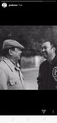 Prabowo Unggah Foto Bareng Didit yang Ultah ke-35, Beri Doa