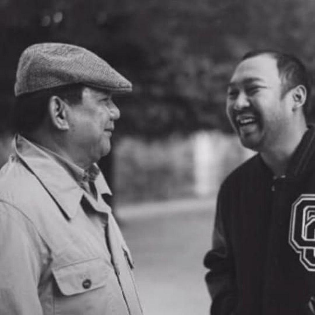 Unggah Foto Bareng Didit yang Ultah Ke-35, Prabowo Beri Doa