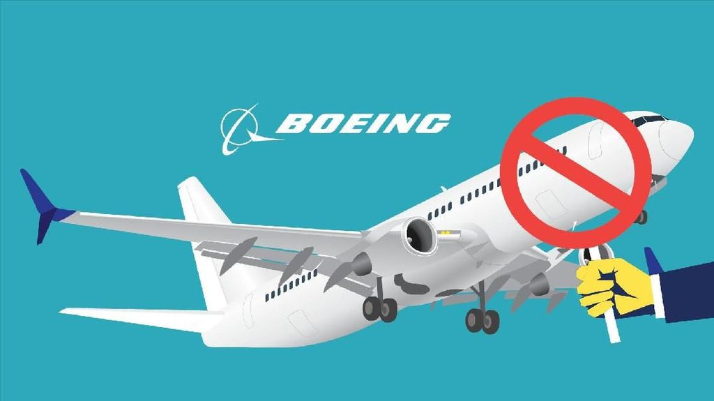 Garuda Batalkan Pesanan Boeing 737 MAX 8