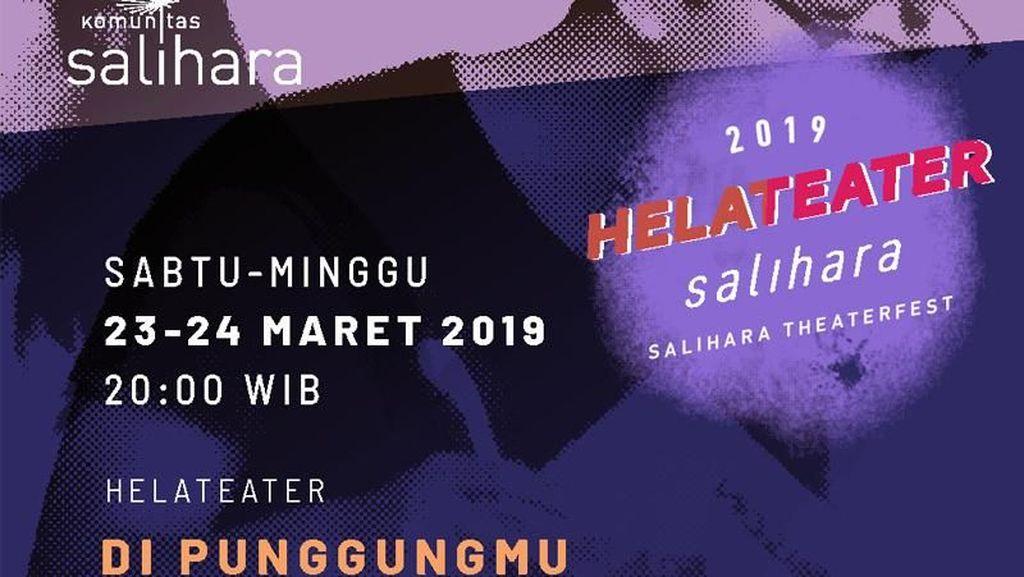 Forum Aktor Yogyakarta Bakal Buka Helateater Salihara 2019