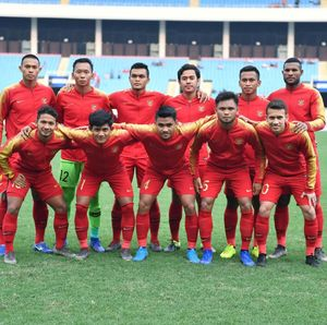 Timnas U-23 Vs Arab Saudi Tuntas Tanpa Pemenang