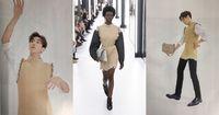 Penampilan Kang Daniel yang Tetap Maskulin Saat Pakai Baju-baju Wanita