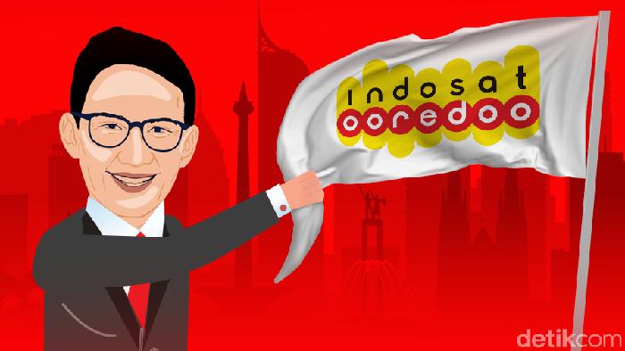 Sandi Mau Rebut Indosat