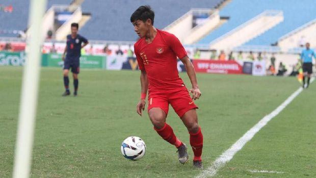 Timnas Indonesia saat kalah 0-4 dari Thailand. (