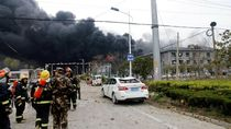 Pabrik Bahan Kimia di China Meledak, 6 Orang Tewas