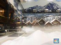 Ide Rekreasi Akhir Pekan: Main Salju di Bekasi