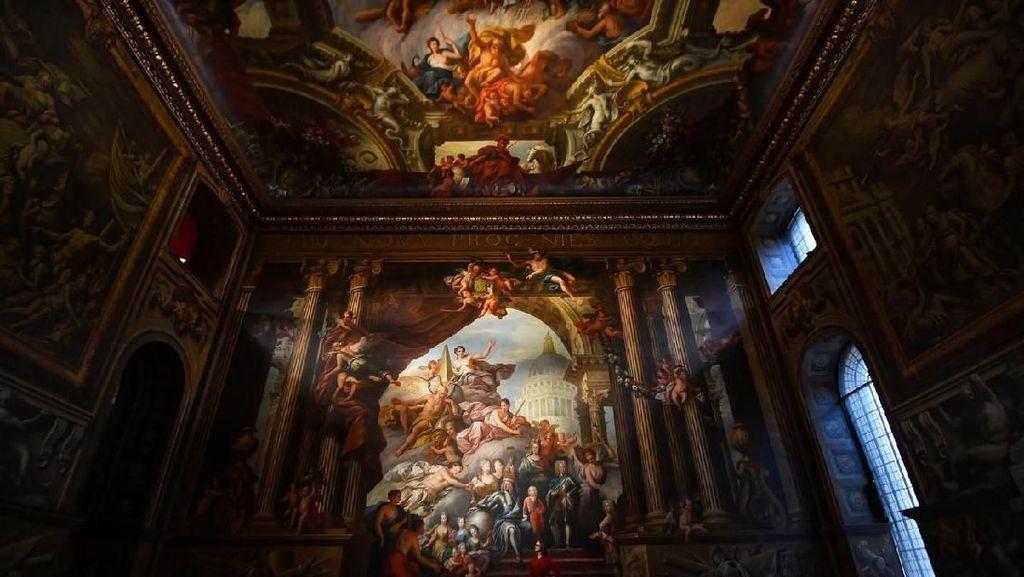 Hore! Mural di Kapel Sistina Inggris Dibuka Lagi untuk Publik