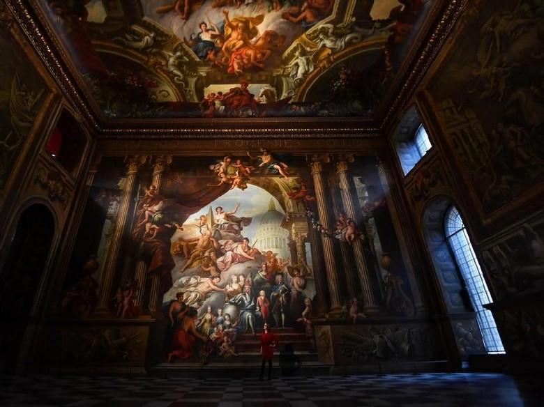 Hore! Mural di Kapel Sistina Inggris Dibuka Lagi untuk Publik Foto: Reuters