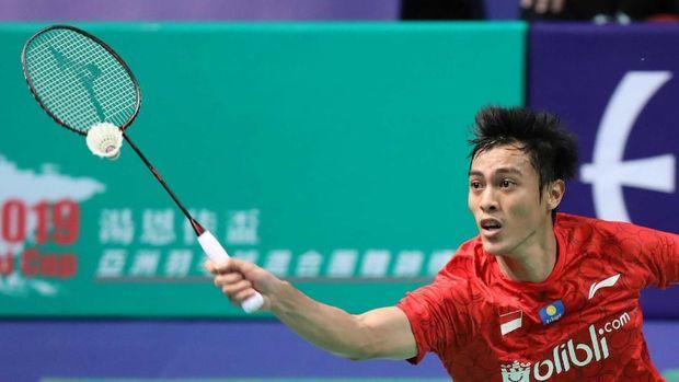 Shesar Hiren Rustavito dijadwalkan tampil di final badminton beregu putra.
