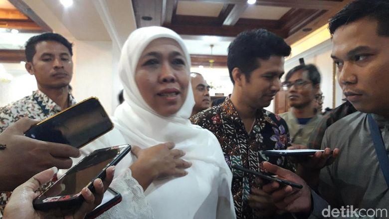 Ott Kpk Hari Ini Di Surabaya Detail: Khofifah Cerita Kedekatannya Dengan Kakanwil Kemenag Jatim