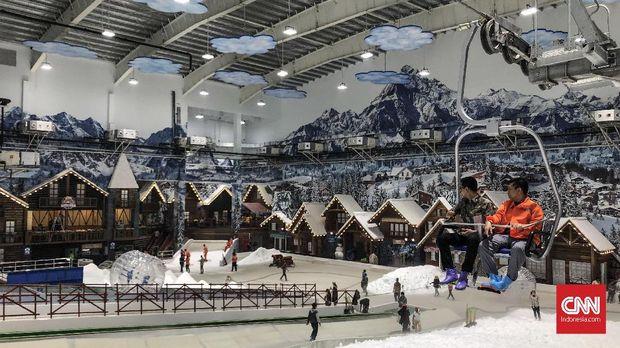 Wisata Salju Pertama Di Indonesia Ada Di Bekasi Gaya Aja