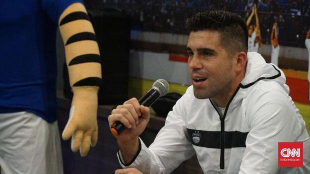 Fabiano Beltrame pernah memperkuat Persija Jakarta dan Madura United.