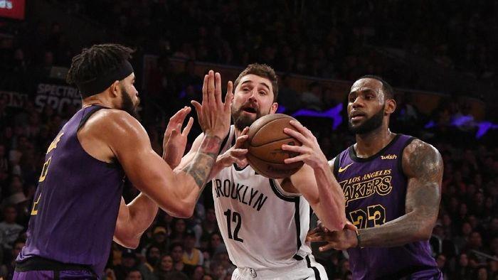 LeBron James dan LA Lakers gagal lolos ke playoff NBA 2018/2019 (Richard Mackson-USA TODAY Sports)