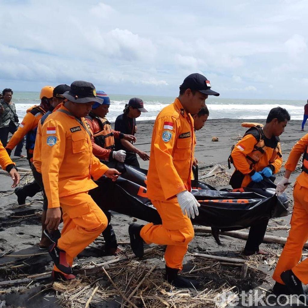 2 Bocah Terseret Ombak Pantai Congot Kulon Progo Ditemukan Meninggal