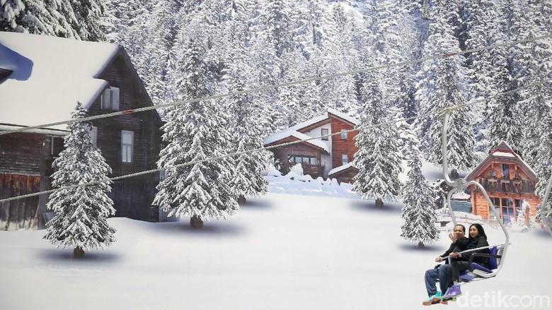 Ilustrasi Trans Snow World Juanda (Rachman Haryanto/detikcom)