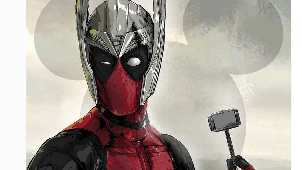 Thor Sambut Deadpool Gabung di MCU