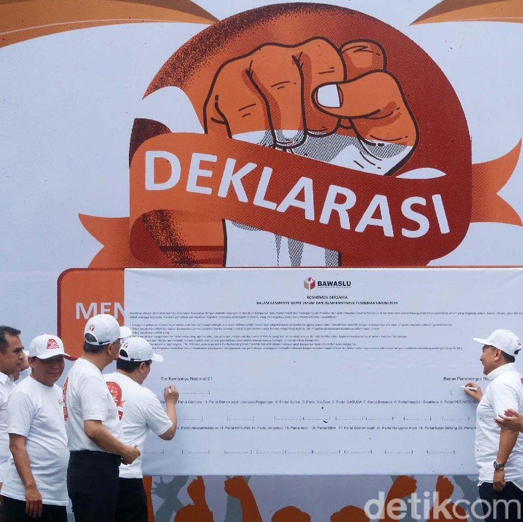 TKN dan BPN Sepakat Ciptakan Pemilu Berkualitas
