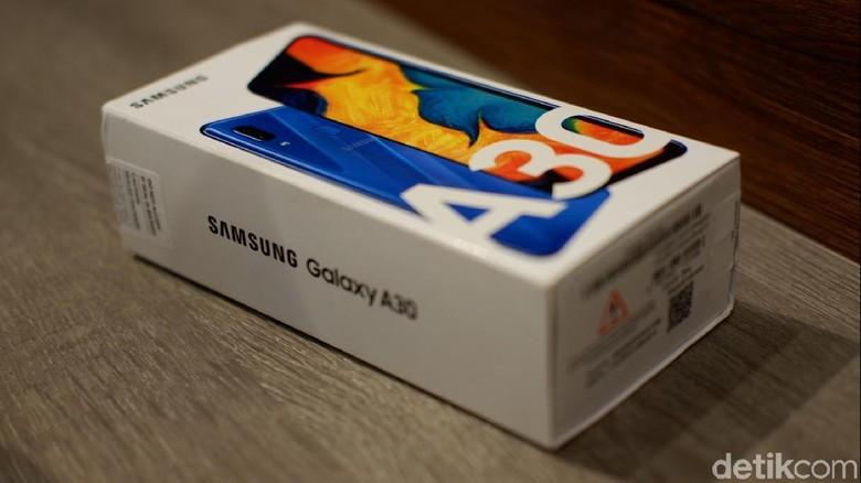 Inilah Galaxy A30.Foto: Adi Fida Rahman/detikINET