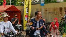 Naik Ontel, Jokowi Hadiri Deklarasi Alumni Jogja Satukan Indonesia