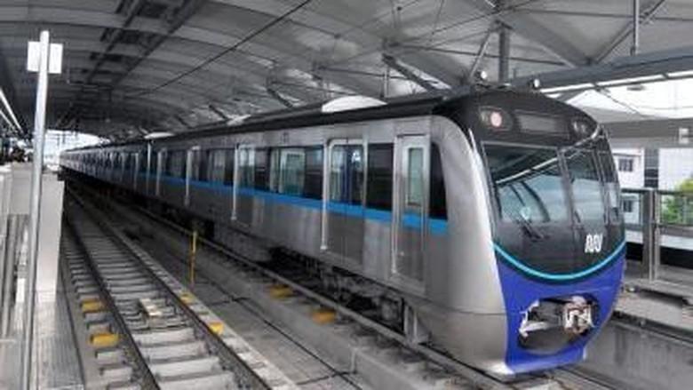 Ada Aksi 22 Mei, MRT Beroperasi hingga Stasiun Dukuh Atas